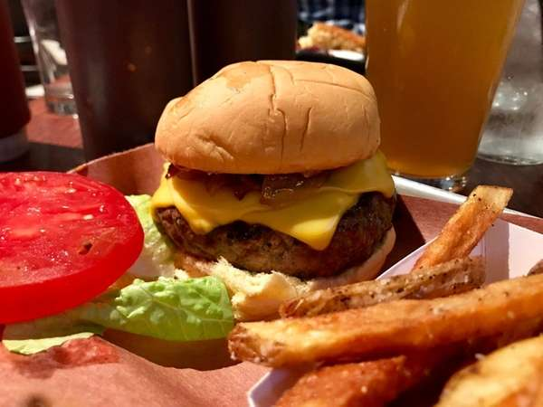 On Thursday nights, burgers at One Block East