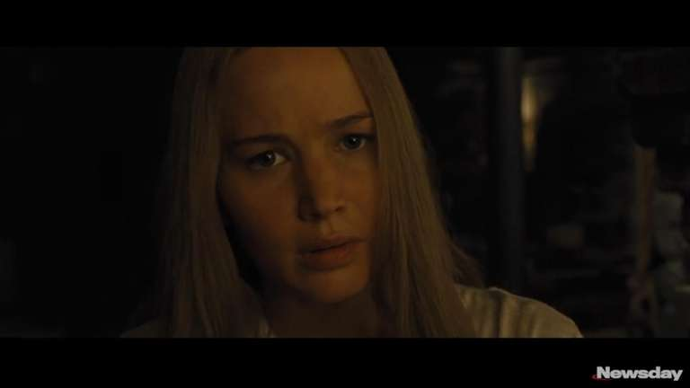 Psychological thriller starring Jennifer Lawrence as a woman