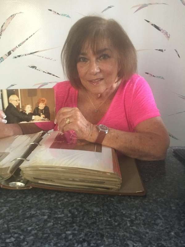 Marcia Byalick of Searingtown condensed many photo albums