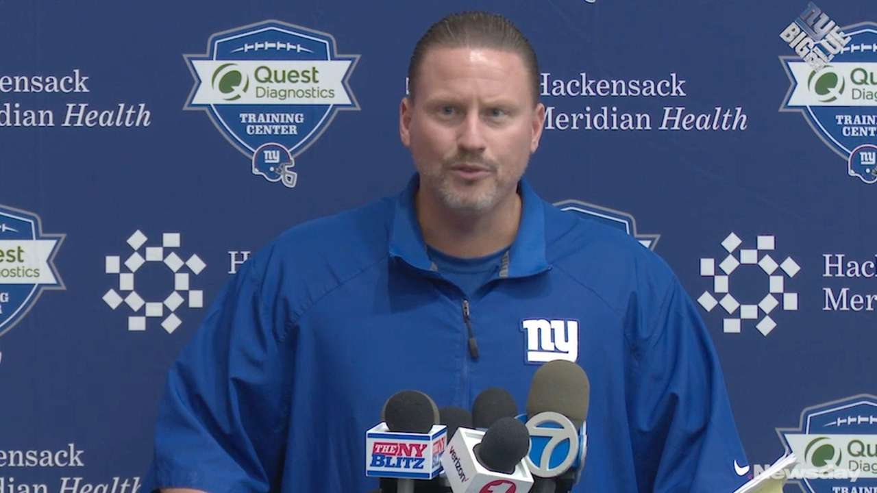 The Giants talked on Wednesday, Sept. 6, 2017,