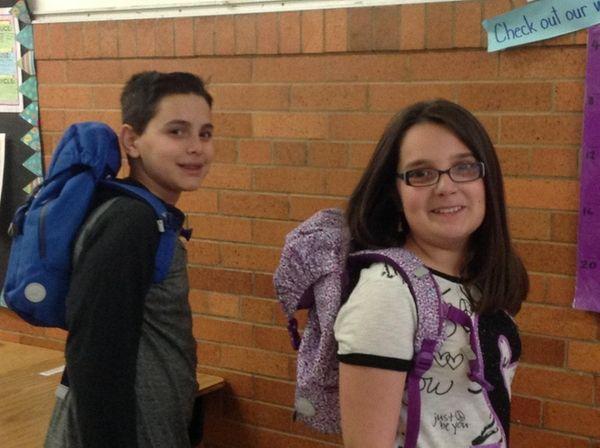 Kidsday reporters Joey Bruno and Sabrina Teta found