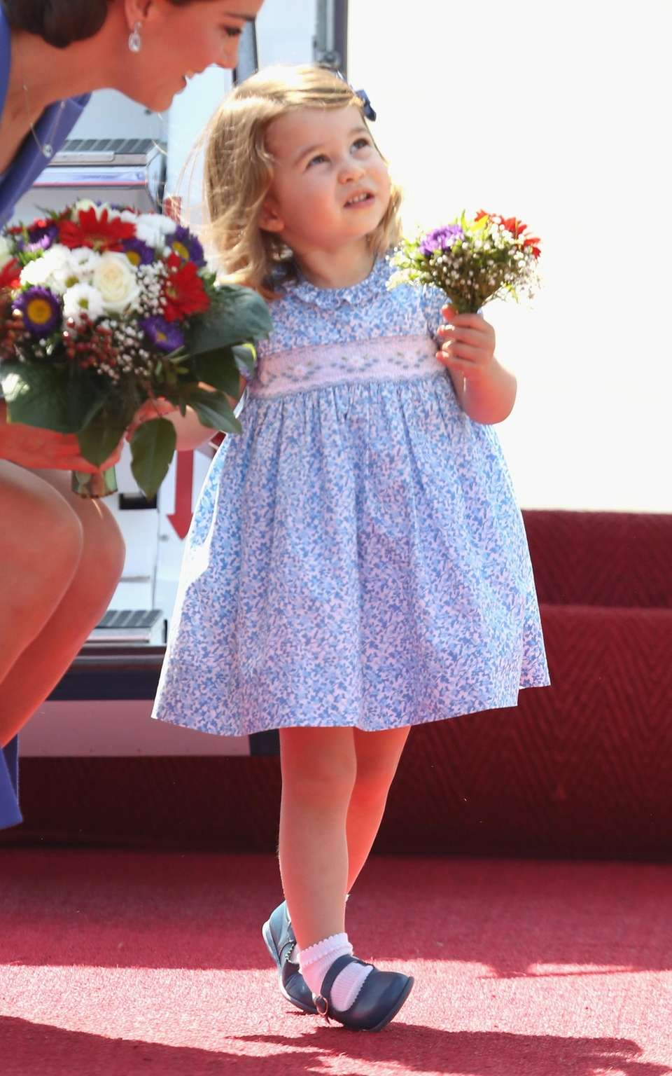 Princess Charlotte of Cambridge arrives at Berlin Tegel