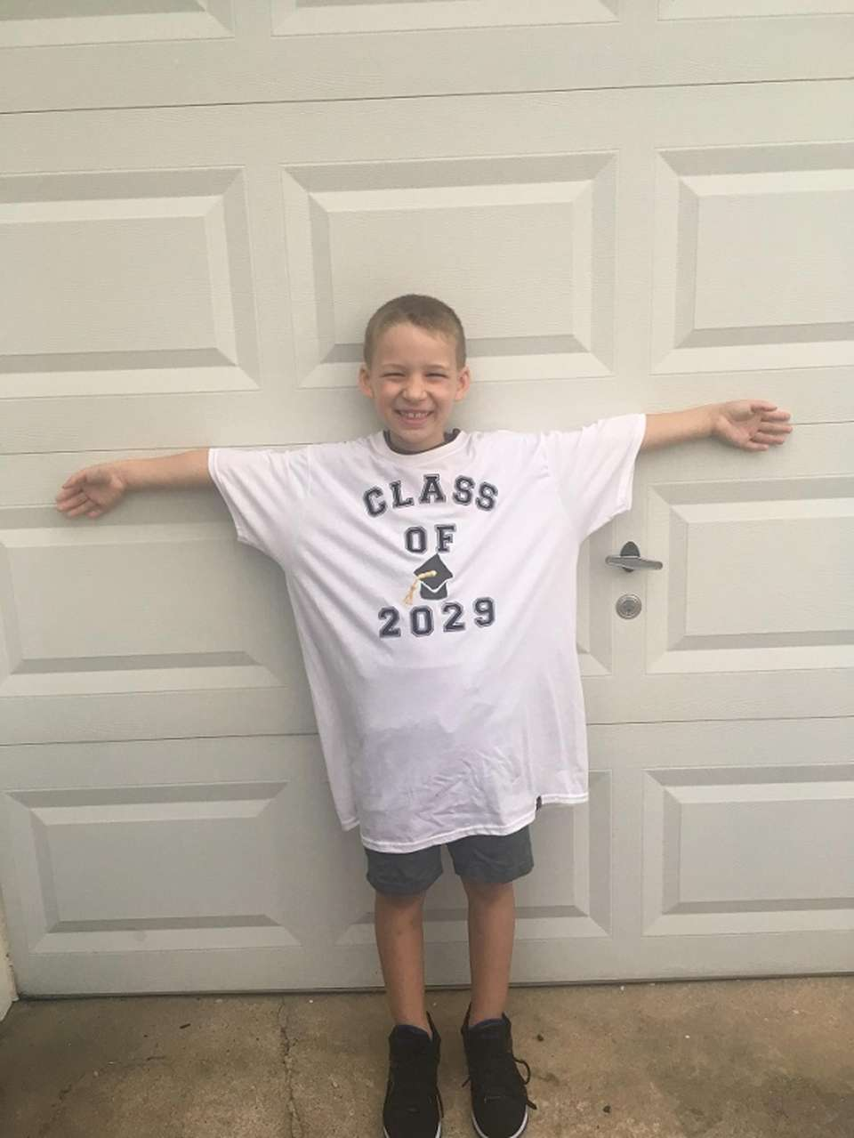 Robert heading off to 1st grade 9/6/17! #sachemstrong