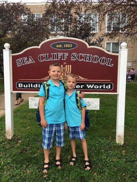 School Days: Ty (age 8) and Cade (age