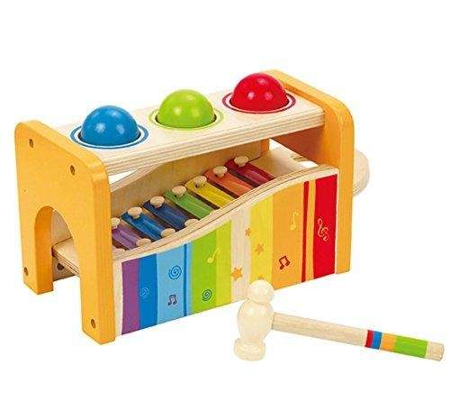 Your little one can tap and play musical