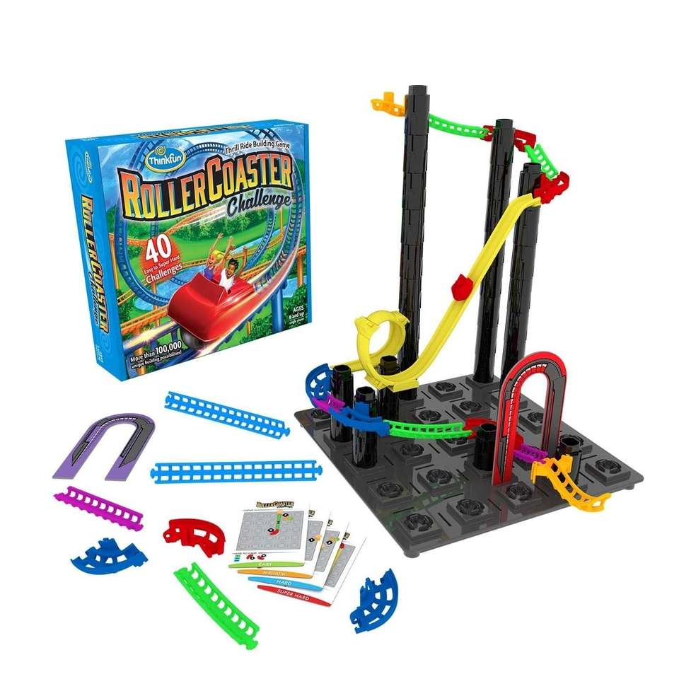 Build the ultimate roller coaster while attempting to