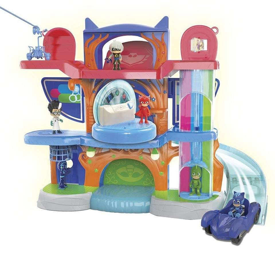 PJ Mask fans will love the Headquarters Playset