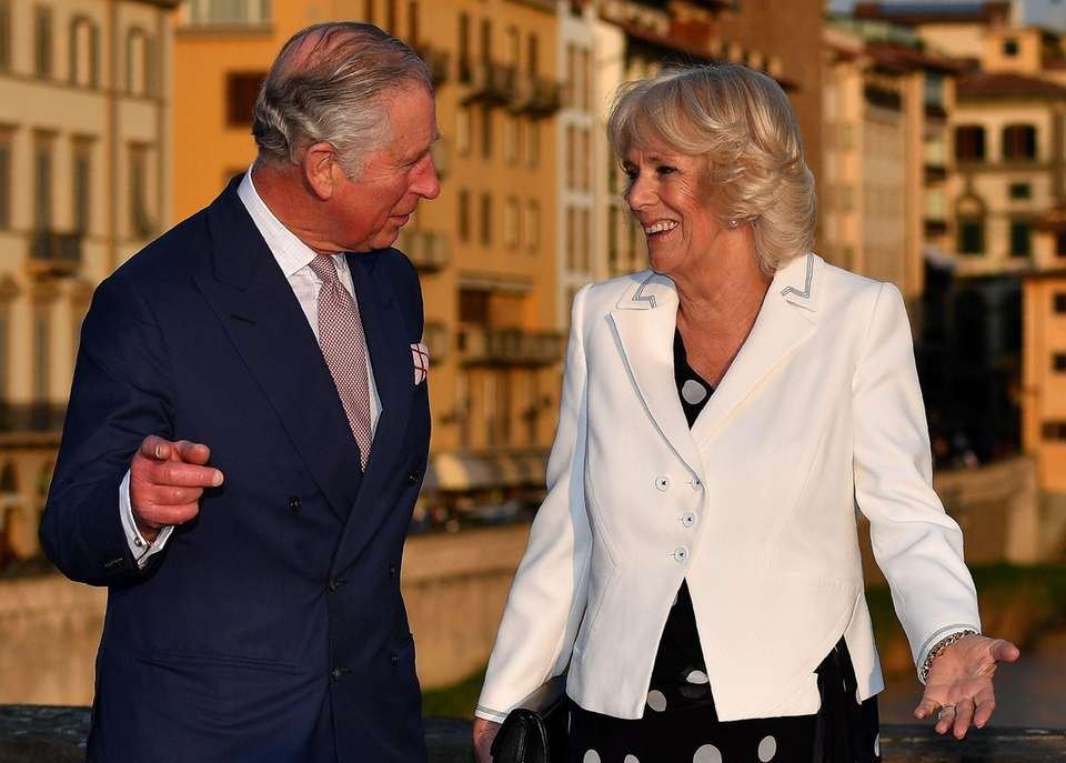 Prince Charles and his wife Camilla, Duchess of