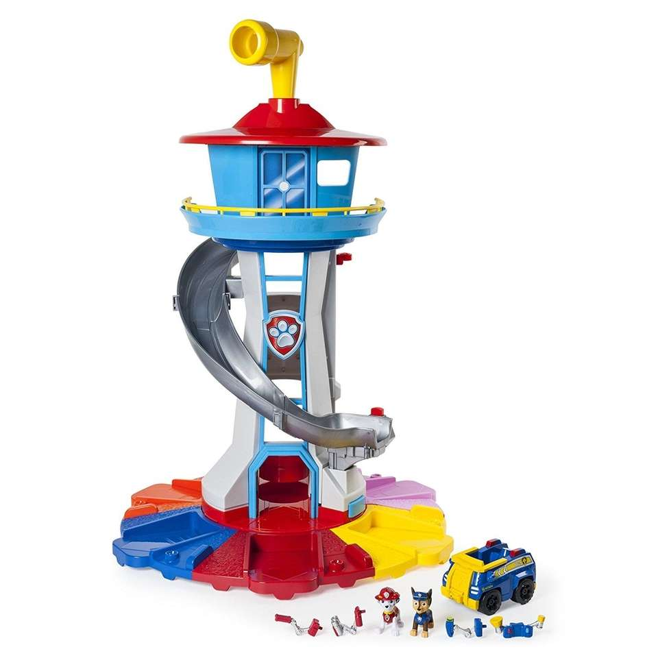 Help the Paw Patrol crew spot danger with