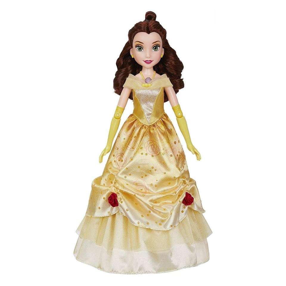 Watch Belle dance with a touch of her