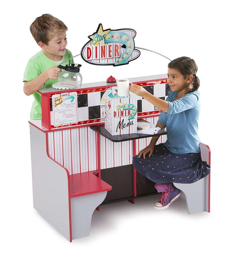 With two play spaces in one, kids will