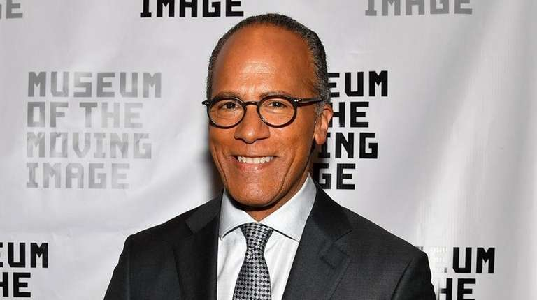 NBC Nightly News anchor Lester Holt's son, Stefan
