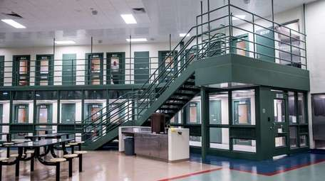 Tours of the county jail in Yaphank are