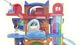 PJ Mask fans will love the Headquarters Playset,