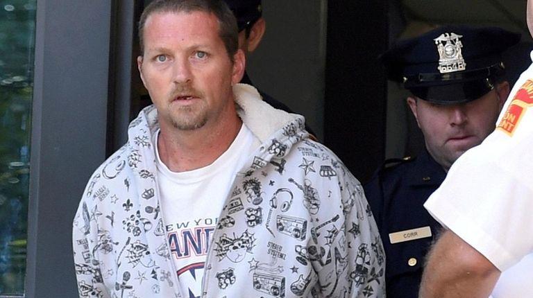 Steven Strub, 39, of Islip Terrace, faces life