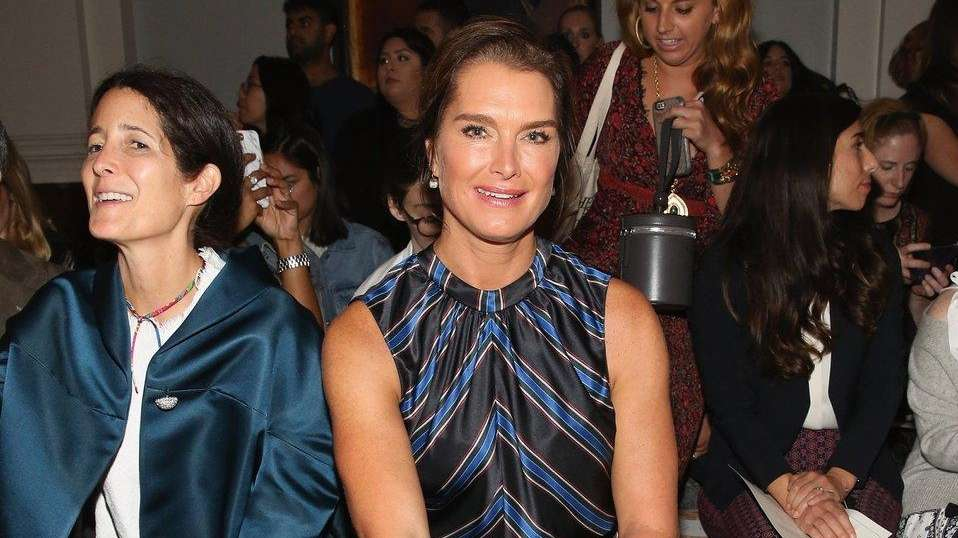 Brooke Shields chatted about her
