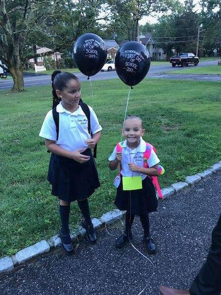 First day of school 2017 Marleigh-2nd grade &