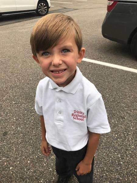 Grady's first day of 1st Grade 2017