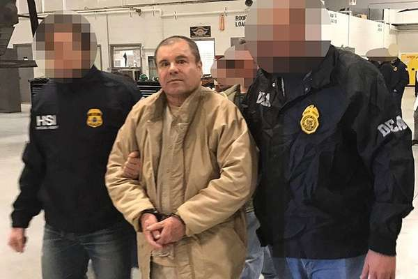 Alleged Mexican drug kingpin Joaquín