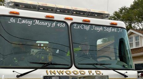 An Inwood fire engine, seen Oct. 22, 2016,
