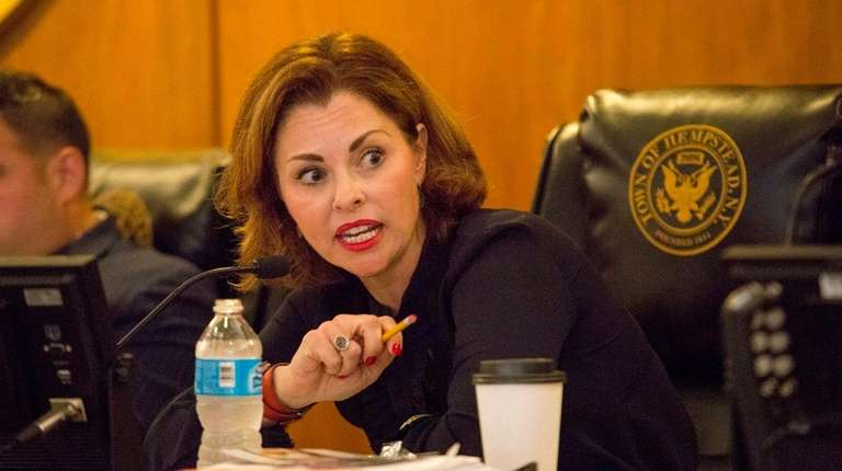 Hempstead Town Councilwoman Erin King Sweeney during the