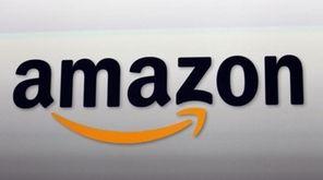 The Amazon logo is seen on Sept. 6,