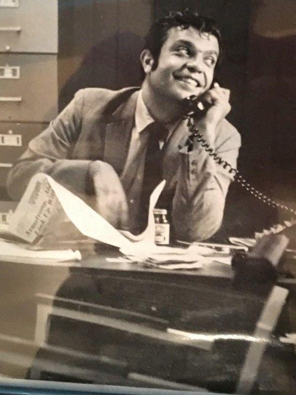 Albert Norman Cohen, a veteran journalist who served