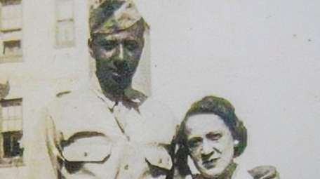 Creighton Berry with his mother, Williametta, in the