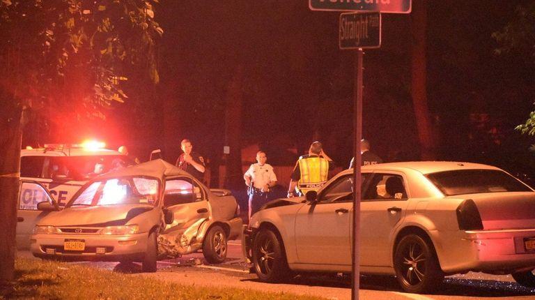 A motorist was fatally injured late Thursday, Sept.