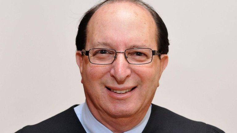 Nassau County Judge Gary F. Knobel in a