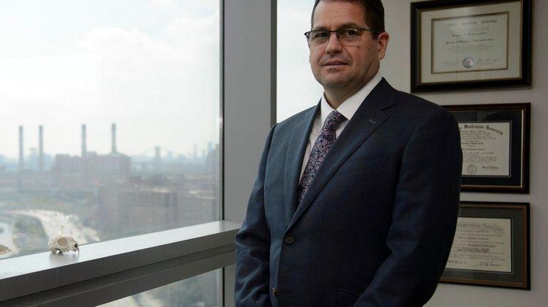 Tim Kupferschmid, chief of laboratories of the Office