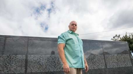 Former NYPD officer Tom Wilson at the 9/11