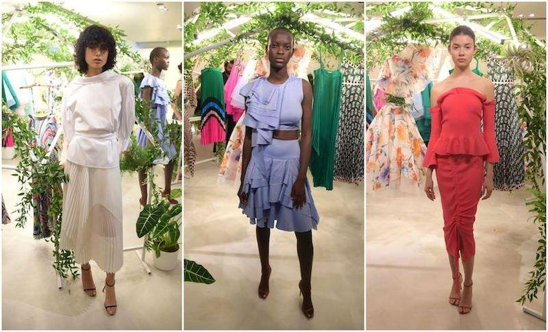 Last season, designer Michelle Smith's Milly collection was