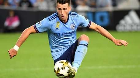 Jack Harrison of NYCFC during game against the