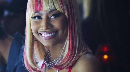 Nicki Minaj attends the Philipp Plein Spring/Summer 2018