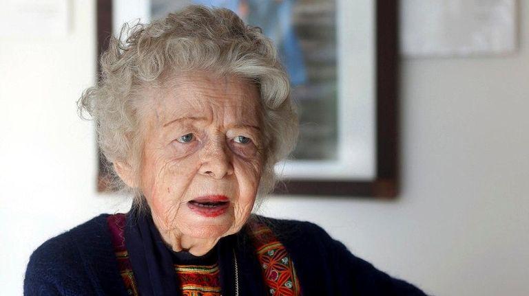 American historian Nancy Hatch Dupree died Sunday, Sept.