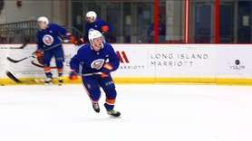 On Sunday, Sept. 10, 2017, Islanders prospects practiced