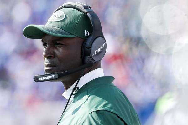 Head coach Todd Bowles of the Jets during