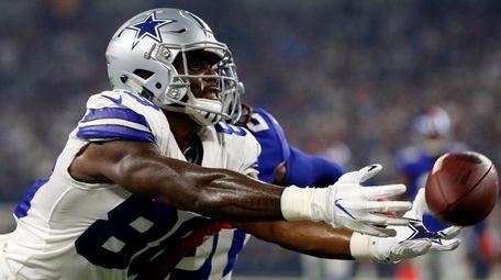 Dallas Cowboys wide receiver Dez Bryant is unable