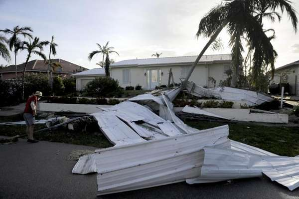 Monday: Irma downgraded to tropical storm after shoving past Tampa Bay