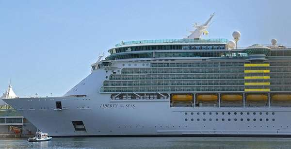 Hurricane Harvey forced Royal Caribbean's Liberty of the