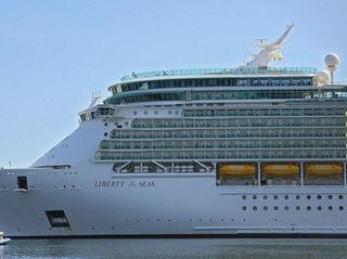 Hurricane Harvey forced Royal Caribbean's Liberty of the