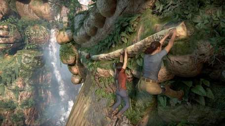The novelty of Uncharted: The Lost Legacy is