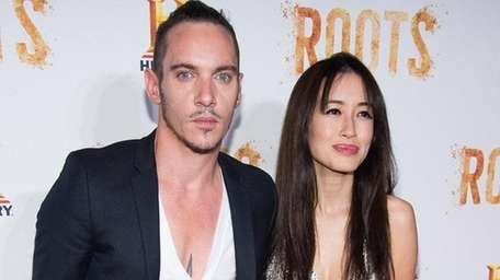 Jonathan Rhys Meyers and Mara Lane, seen above