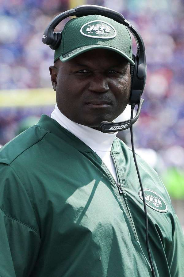 Jets head coach Todd Bowles against the Buffalo