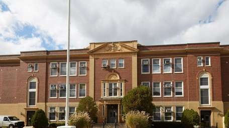 The Smithtown school district's administrative offices, seen here