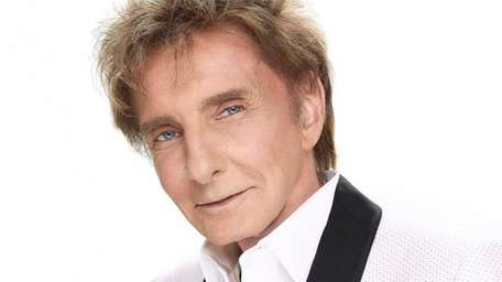 American singer-songwriter Barry Manilow, who plays NYCB Live's