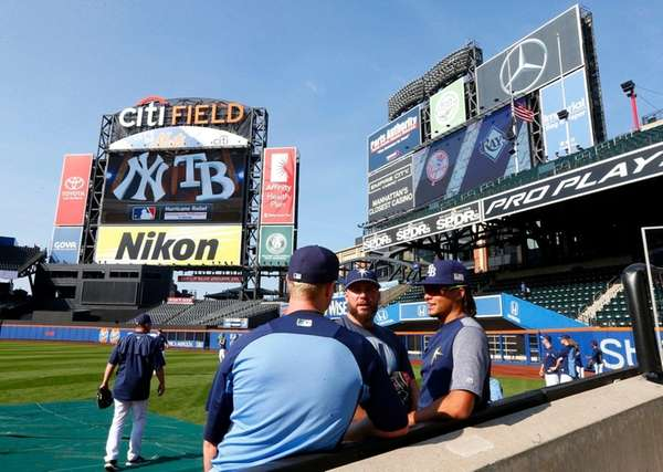 Rays fall to Yankees in surreal 'home game' at Citi Field