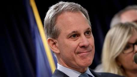 Attorney General Eric T. Schneiderman at a