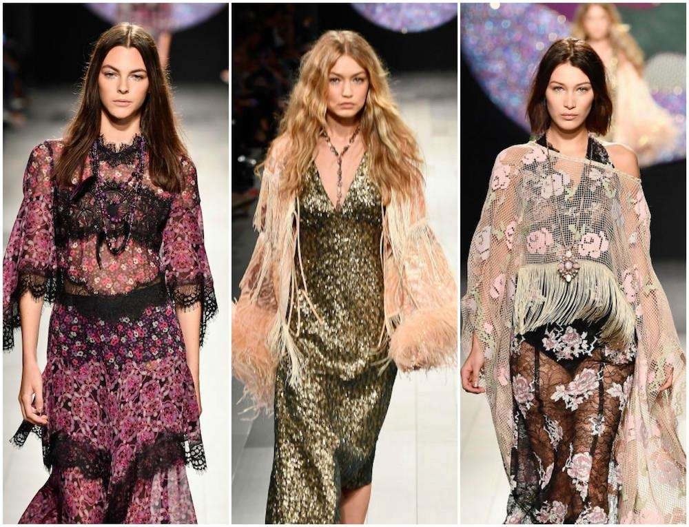 Anna Sui is ready for her be-in. The